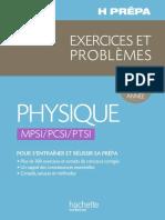 h Prepa Exercices Problemes Physique Mpsi Pcsi Ptsi