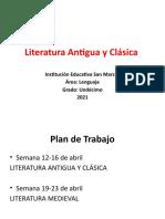 Literatura Antigua y Clásica