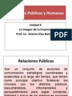 Relaciones Públicas y Humanas -  Presentación