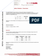 02 Programmation Lineaire Exercice