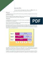 Estructura de una dirección IPv4