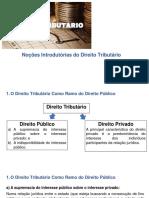 Direito Tributário Parte I - Slides