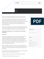 Código de ética CIV – Cámara Inmobiliaria de Venezuela