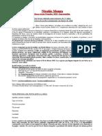 BASES PLANILLA DE INSCRIPCION BECA 2019