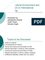 Socio-Cultural Environment and Its Impact on International Business