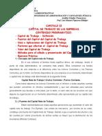 CAPITULO II Analisis Edos Financieros