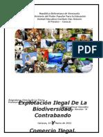 ACTIVIDAD SUMATIVA Explotación Ilegal de La Biodiversidad