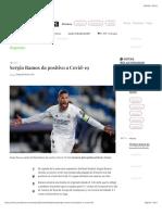 La Jornada - Sergio Ramos da positivo a Covid-19