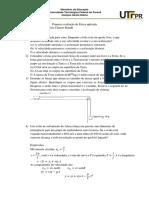 AV 1 Física Agronomia