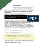 Partición primaria con DiskPart