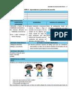 SESIONES 1° -  EDUC. FÍSICA