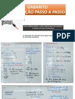 Slide Gabarito Lista Obrigatória Prova 16abril2021 6ano Prof.Mara