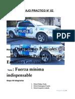 operaciones policiales grupal