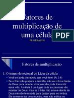 Fatores de Multiplicacao Da Celula - Azemar