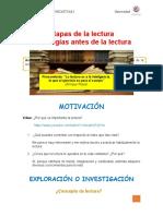 ETAPAS DE LA LECTURA