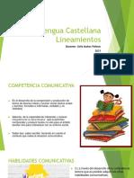 Competencias Lengua Castellana