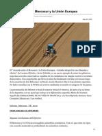 Clacso.org-Acuerdo Entre El Mercosur y La Unión Europea