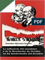 Oswaldo Albornoz Peralta La Influencia Del Marxismo y de La Rev de Octubre