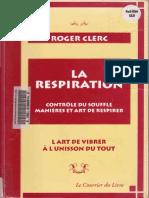 La Respiration- Roger Clerc