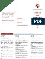 Brochure Settimana Della Cooperazione
