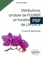Ahmed Lesfari-Distributions, Analyse de Fourier Et Transformation de Laplace - Cours Et Exercices-Ellipses Marketing (2012)