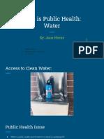 this is public health final presentation- jane horne