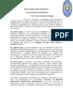 BLOQUES DE CONTENIDOS. 5