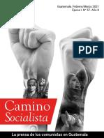 Camino Socialista No 57, Año 8, Epoca 1
