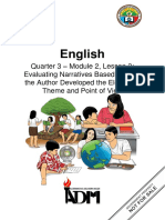 English6_Q3_Mod2_Lesson3_Evaluating-Narratives-Based-on-How-the-Author-Developed-the-Elements-Theme-and-Point-of-View-v2