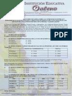 COMUNICADO A LOS PADRES DE FAMILIA SOBRE LAS CONDICIONES  DE LA PRESTACIÓN DEL SERVICIO EDUCATIVO 2021  PRIMARIA