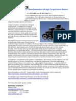 Baumuller DST Torque Motor Press Release