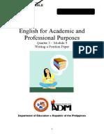 EAPP11 Q2 Mod3 Writing-A-Position-Paper Version3