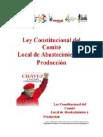 Ley Constitucional del CLAP