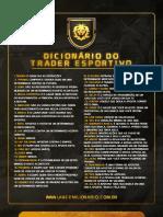 Dicionário do Trader Esportivo