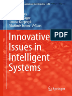 Innovative Issues in Intelligent Systems