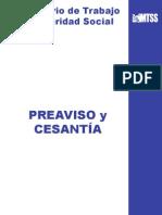 Preaviso y Cesantía