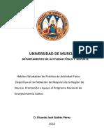 UNIVERSIDAD D MURCIA-Hábitos Saludables de Práctica de Actividad Físico