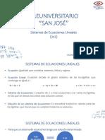Sesión 3_Sistemas de Ecuaciones