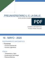 F Exponencial y Logarìtmica- Clase Virtual 5