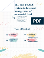 CAMELS and PEARLS applied to financial management of commercial bank in Vietnam
