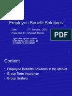 Employee Benefit Solutionpresentation