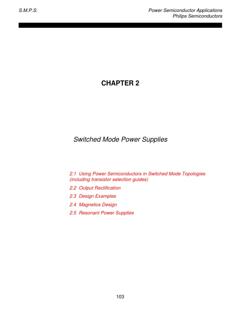 SMPS   Rectifier   Power Supply