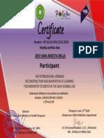 Sertifikat Webinar Polkesden 11 Juni 2020 DEVI ANA ARIESTA BELLA