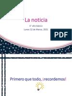 Material de Apoyo - Sexto Básico - Lenguaje y Comunicación
