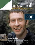 John Carroll University Magazine Fall 2008