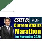 CSEET Current Affairs Marathon for November 2020 Exam