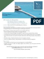 Kagi Maldives - Job Advertisement External 14042021