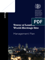 Tower of London World Heritage Site Management Plan