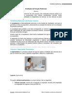 Avaliação Da Função Pulmonar - Estudar a Anatomia