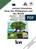 21st-Century-Literature_Q1_MODULE1